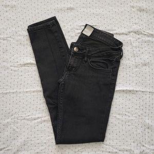 H&M black denim